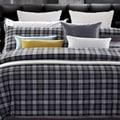 Checkers King-size 7-piece Cotton Duvet Cover Set