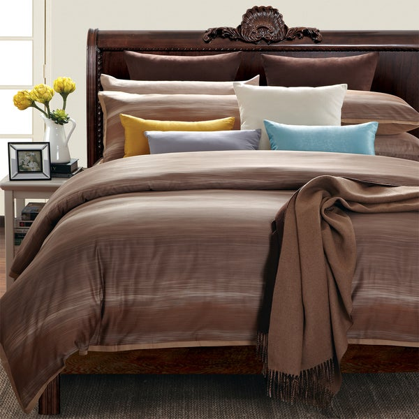 EverRouge Sahara Sun King-size 7-piece Cotton Duvet Cover Set