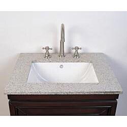 Granite Top 24 Inch Single Sink Bathroom Vanity 14226825 Sh
