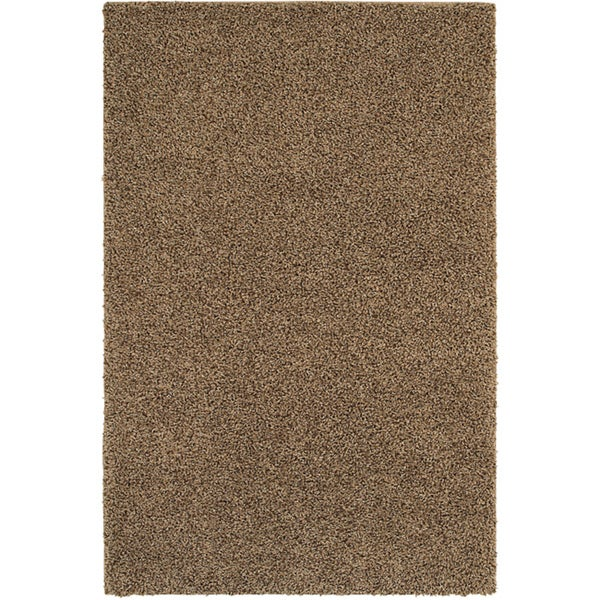 Kodiak Peanut Brown Shag Rug (8' x 10')