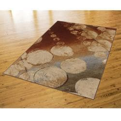 New Wave Rain Multi Rug (8' x 10')