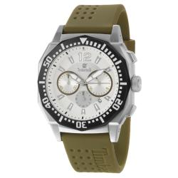 Timberland Men's 'Steprock' Stainless Steel Silicon Quartz Watch