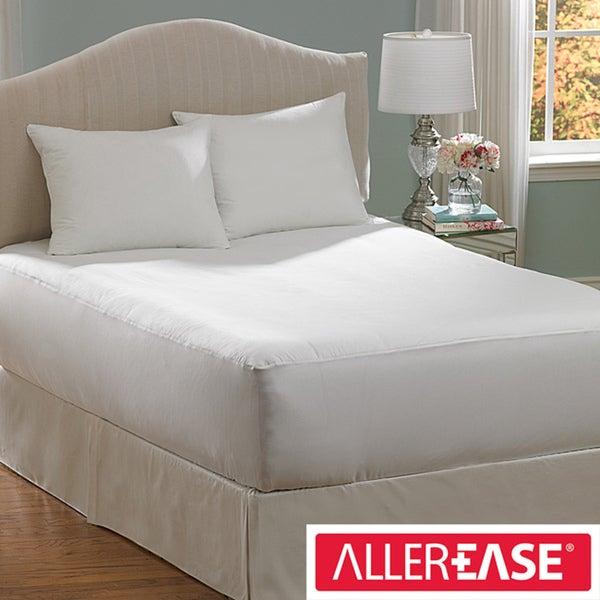AllerEase Cotton Top Mattress Encasement