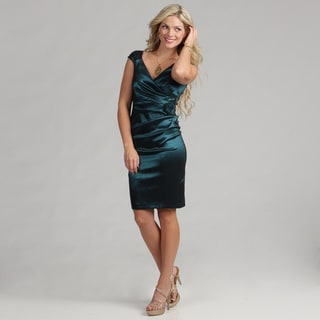London Times Women's Flower Detail Sheath Dress FINAL SALE