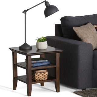 Normandy Tobacco Brown End Table