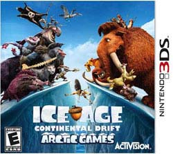 Nintendo 3DS - Ice Age: Continental Drift