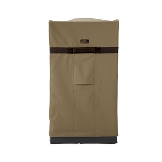 Classic Accessories Hickory Water-Resistant 21 Inch Square Smoker Grill Cover