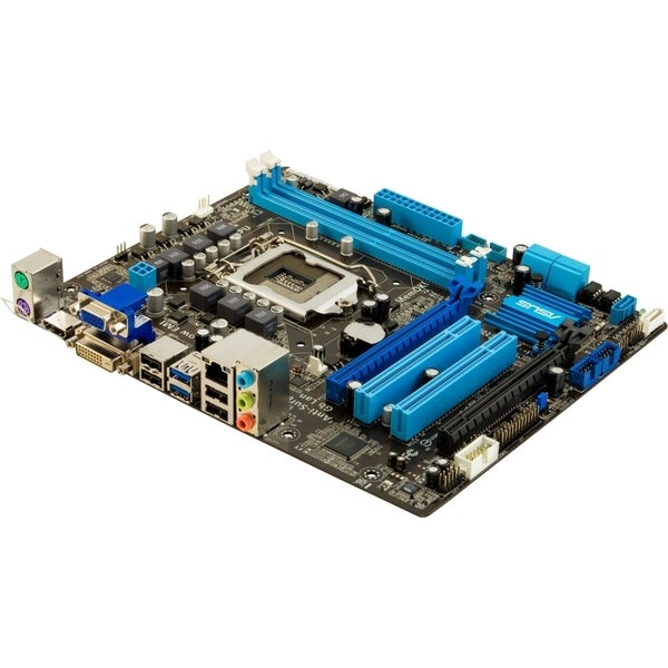 Asus P8B75-M LE Desktop Motherboard - Intel B75 Express Chipset - Soc