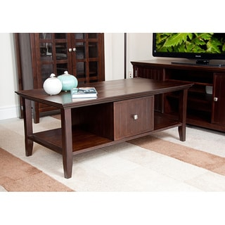 Normandy Tobacco Brown Coffee Table