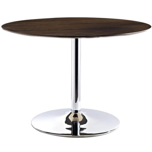 The Rostrum Walnut Finish Dining Table