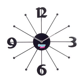 Shopping Made Sweet Modern Wall Clock
