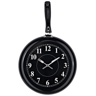 Pan Shaped Wall Clock
