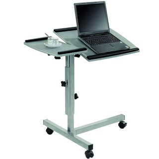 Mobile Laptop Computer Stand with Split Top