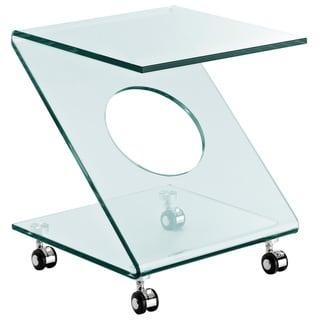 Rolling Z Side Table