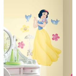 Disney's Snow White Peel and Stick Giant Wall Decal with Gems