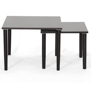 Shaffer Dark Brown Modern Nesting Tables