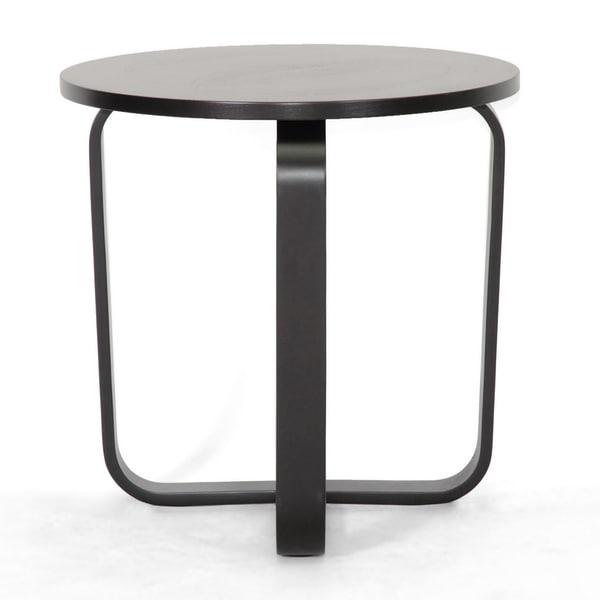 Avila Dark Brown Modern End Table