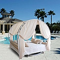 Outdoor V1261 Round Bed Set