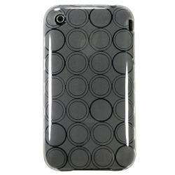 BasAcc Clear Circle TPU Rubber Skin Case for Apple iPhone 3G/ 3GS