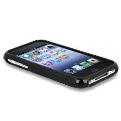BasAcc Black S Shape TPU Rubber Case for Apple iPhone 3G/ 3GS