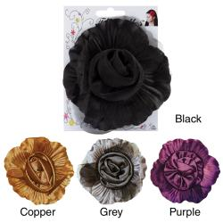 Fluerettes Satin Flower With Tulle (Set of 1)