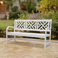 Bradley Outdoor Wood Bench