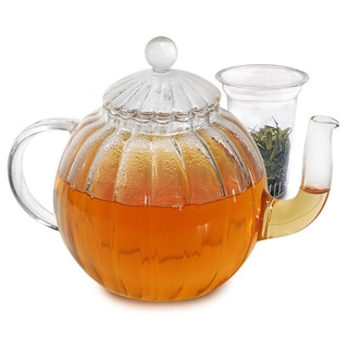 Primula 'Sophe' 40-ounce Glass Teapot