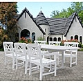 Bradley Oval Extension Table and Armchair Outdoor Wood Dining Set
