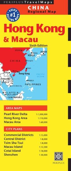 Hong Kong & Macau (Sheet map, folded)