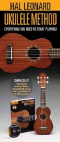 Hal Leonard Ukulele Method: Everything You Need to Start PlayingIncludes a Ukulele