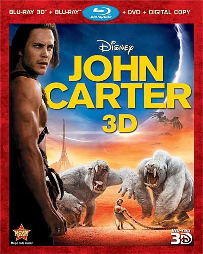 John Carter 3D (Blu-ray/DVD)