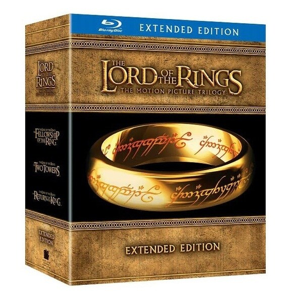 The Lord of the Rings Motion Picture Trilogy: Extended Edition (Blu-ray)