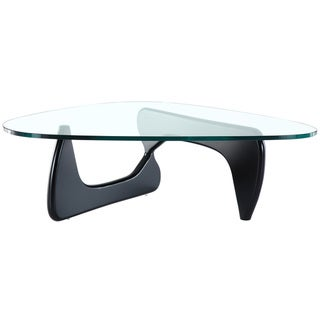 Isamu Noguchi Coffee Table with Black Base