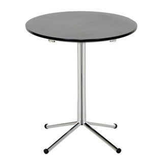 Grimes Dark Brown Wood/ Steel Modern End Table
