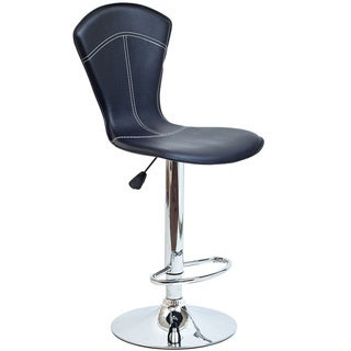Cobra Bar Stool in Black