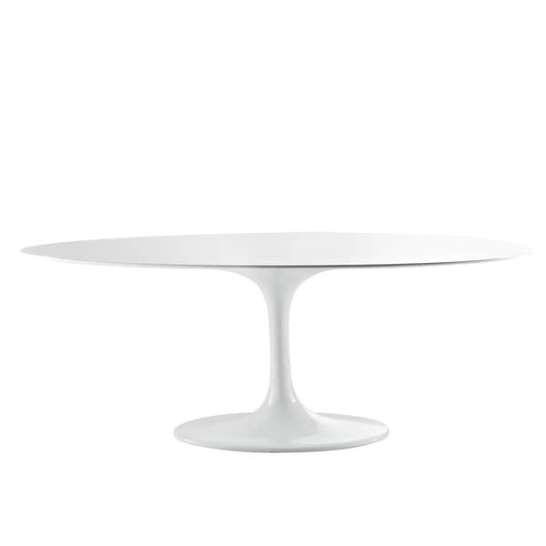 Eero Saarinen Style White Tulip Dining Table