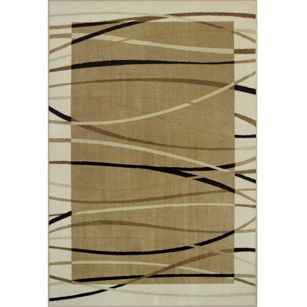 Somette Allestra Sahara Beige Rug (5' x 8')