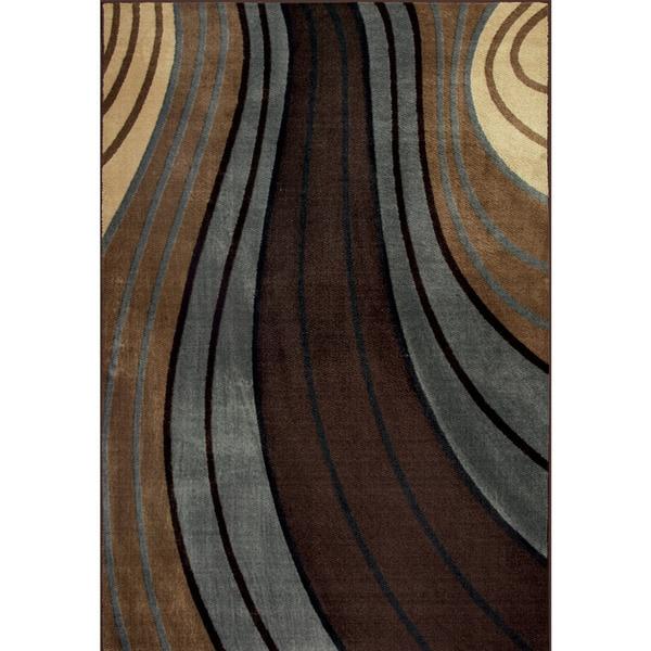 Somette Allestra Passage Brown Rug (5' x 8')