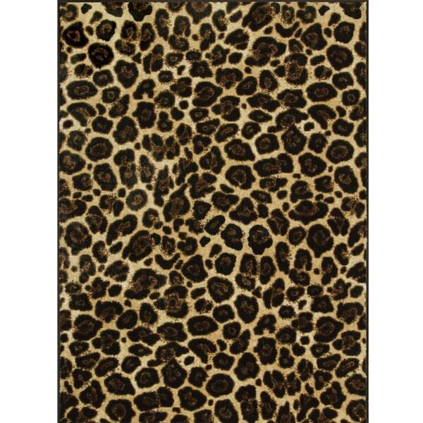 Somette Allestra Africa Brown Rug (5' x 8')