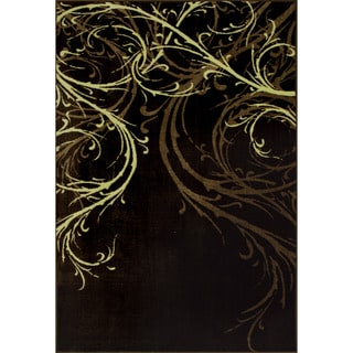 Allestra Emotion Brown Rug (5' x 8')