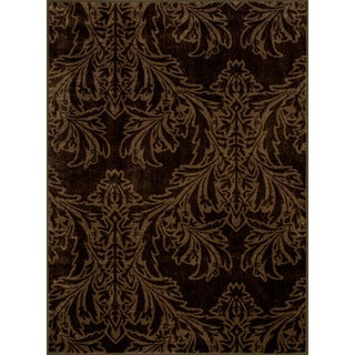 Allestra Majestic Brown Rug (4' x 6')
