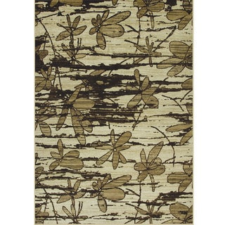 Allestra Without Prevention Beige Rug (7' x 10')