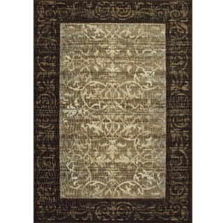 Avante Delicate Attentions Chocolate Rug (4' x 6')