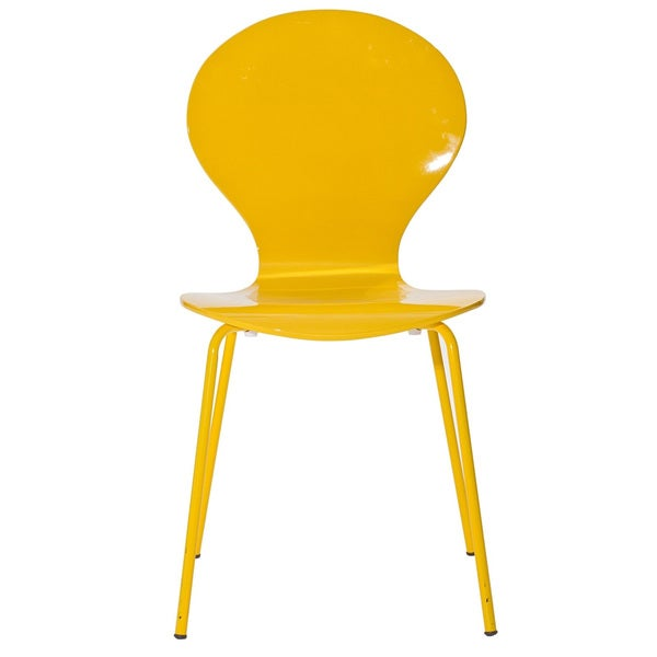 Insect Yellow Side Chair