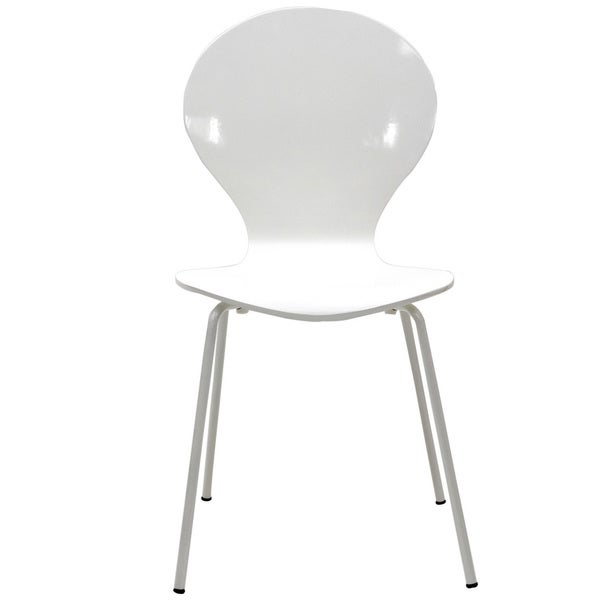 Insect White Side Chair