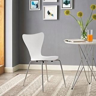 Arne Jacobsen Style Series 7 White Side Chair