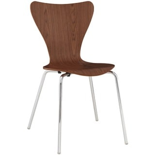 Arne Jacobsen Style Series 7 Walnut Side Chair