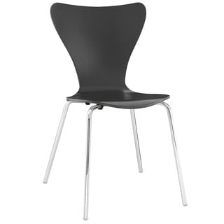 Arne Jacobsen Style Series 7 Black Side Chair