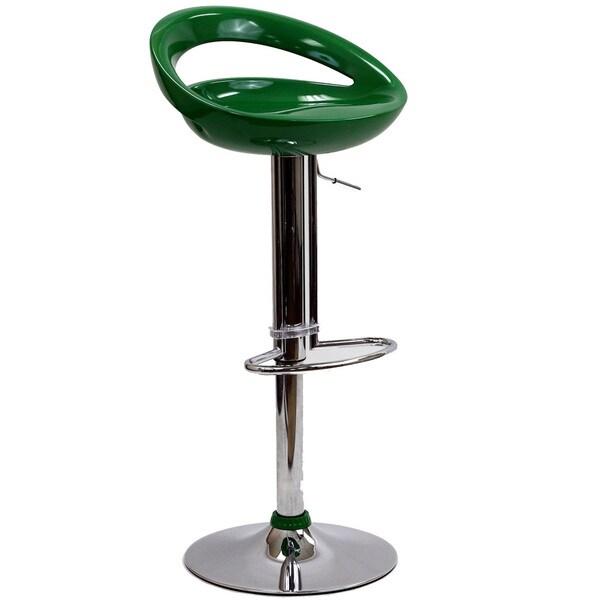 Bottle Opener Bar Stool in Green