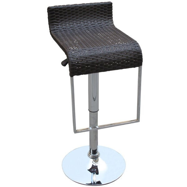 Rattan LEM Piston Bar Stool
